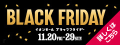BLACK FRIDAY チラシ